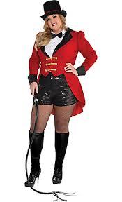 Ladies Size Halloween Costumes Circus Ringmaster Costume Size Halloween