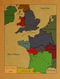 Holy Roman Empire Map Map Of Neustria Fictional By Zelros On Deviantart