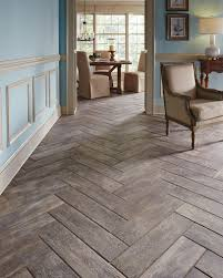 Hardwood Floor Tile A Real Wood Look Without The Wood Worry Wood Plank Tiles Make The