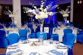 wedding reception decoration marvellous royal blue table decorations wedding 77 for wedding