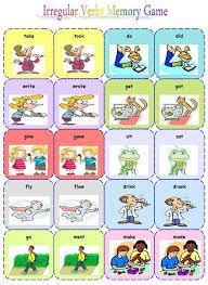 best 25 irregular verbs ideas on pinterest english verbs esl