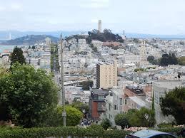 360 Hyde Street San Francisco by Lombard Street Seen In San Francisco