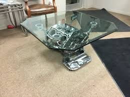 mercedes benz engine block coffee table my projects pinterest