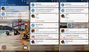 android lock screen notifications samsung galaxy s5 how to use notifications in lock screen in