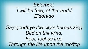 electric light orchestra eldorado electric light orchestra eldorado lyrics youtube