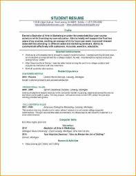 Basic Job Resume Template Resume Template For First Job First Job Resume Format 461 Best