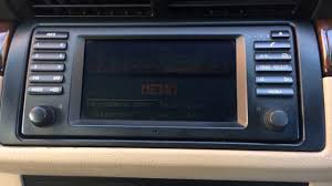 bmw x5 e53 car radio upgrade eonon youtube