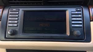 bmw x5 e53 car radio upgrade eonon youtube