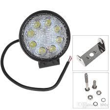 best construction work lights 4 inch 12v 24v 1600lm 24w waterproof circular led work light for