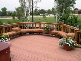 Pinterest Deck Ideas by Patio Deck Ideas Decks With Bench Seating Images About On