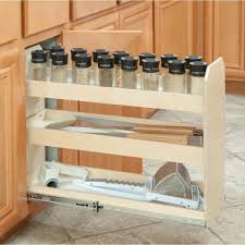 home depot kitchen cabinet organizers made to fit 3 tier adjustable tower cabinet organizer 6 in to 12 in wide extension soft