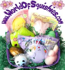 easter gift basket loaded easter gift basket squishies and more