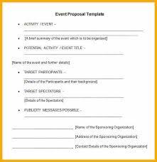 6 event proposal letter bursary cover letter