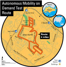 Map My Route Driving by Delphi Tests Self Driving Car Service In Singapore The Verge
