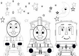 thomas the train printable winter coloring pages for bebo pandco