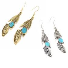 feather earrings online metal feather earrings online metal feather earrings for sale