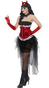 Halloween Costumes Devil Woman Grotesque Burlesque Costume Devil Halloween Costume