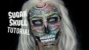 The 15 Best Sugar Skull Makeup Looks For Halloween Halloween by Detailed Sugar Skull Makeup Tutorial Halloween 2017 Youtube