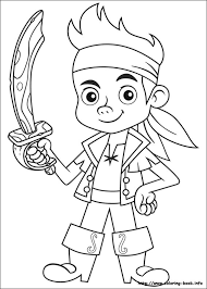 jake land pirates coloring pages coloring book
