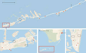 Map Florida Keys by The Florida Keys By Camper Van With Baby The New York Times