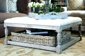 cushion coffee table with storage coffee table with footstool medium size of coffee ottoman coffee