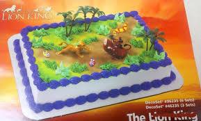 amazon com lion king party birthday simba pumba cake decoration