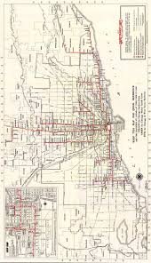 Chicago Transit Authority Map by Map Of The Chicago Red Line Humphreydjemat Co