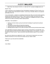 Senior Executive Assistant Resumes Samples by Best Administrative Assistant Cover Letter Template With Admin