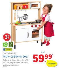 cuisine jouet bois lidl promotion cuisine en bois playtive junior cuisines
