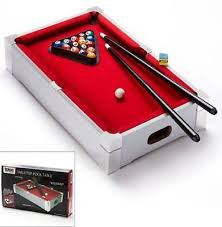 tabletop pool table 5ft deluxe branded kids children mini tabletop pool table games sports