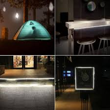 waterproof usb led strip light flexible for camping cabinet