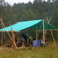 Tarp Canopy Kits by Heavy Duty Canvas Tarp 6m X 4m Tents Camping And Rendezvoux