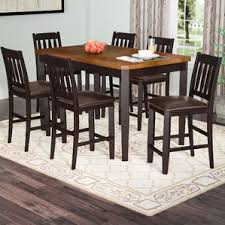 High Dining Room Tables Counter Height Dining Sets You U0027ll Love Wayfair