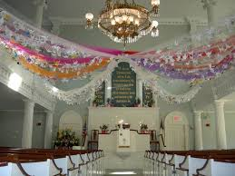 Easter Decoration Ideas Paper by 120 Best Church Decorations Images On Pinterest Church Banners