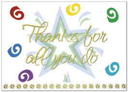 thanks for all you do employee thank you cards posty cards inc