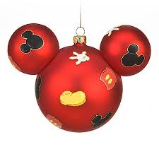 9 disney ornaments merry