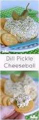 thanksgiving cheese ball dill pickle cheeseball easy appetizer little dairy on the prairie