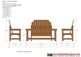 Ottoman Plans Chair With Cooler Adirondack Ottoman Plans Planter Bench