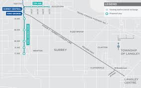 The L Train Map Opinion Surrey Light Rail Will Be One Of Metro Vancouver U0027s Worst
