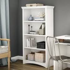 Bookcases Galore Closed Back Bookcases You U0027ll Love Wayfair