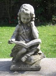 dragonstone reading garden statue co uk garden