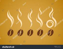 steam background halloween vector set coffee beans steam on stock vector 126627824 shutterstock