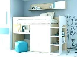 mezzanine bureau lit simple mezzanine lit mezzanine simple contemporain avec bureau