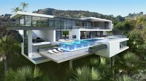 design a mansion two modern mansions on sunset plaza drive in la architecture