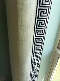 Greek Key Trim Drapes Greek Key Trim On Drapes