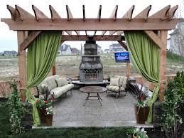 mesmerizing pergola landscaping ideas with elegant classic