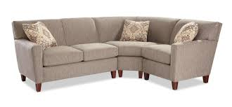 Sectional Loveseat Sofa Three Sectional Sofa With Laf Loveseat By Craftmaster Wolf
