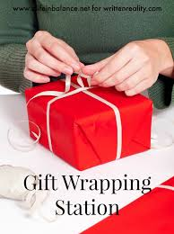 present wrapping station gift wrapping station for christmas and all year