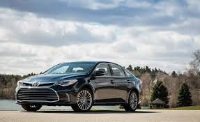 lexus or toyota avalon 2018 toyota avalon in depth model review car and driver