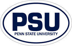 penn state alumni sticker penn state car magnets decals discount penn state store